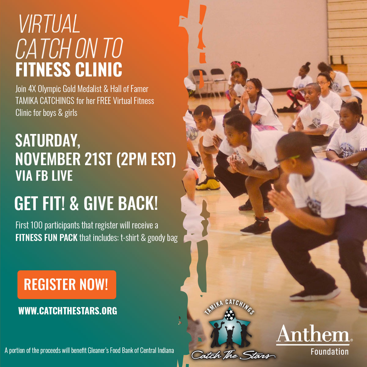 Catch The Stars Foundation Fitness Clinic